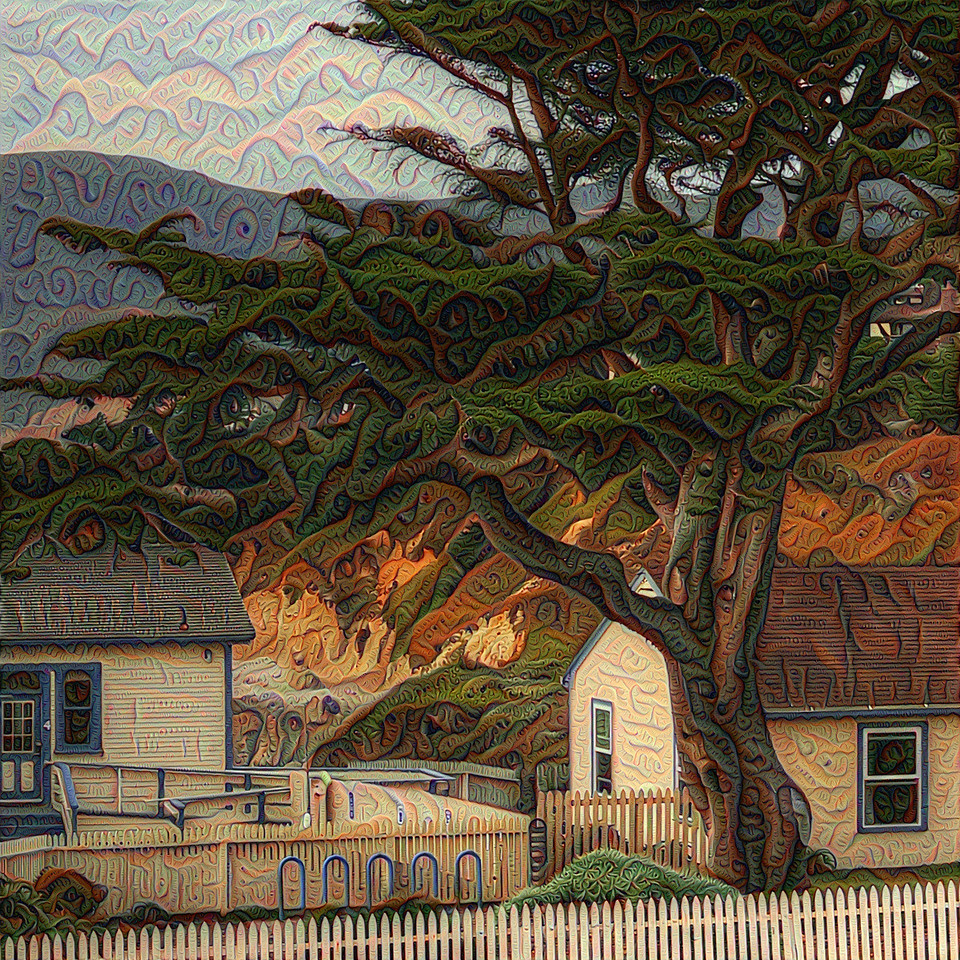 Point Montara Lighthouse - Upscaled Detail