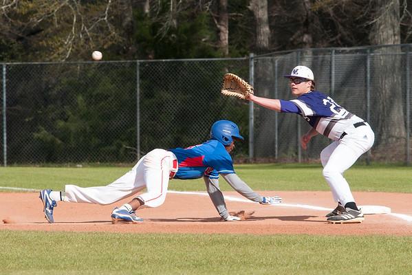 3 21 19 UL JV Baseball vs Veterans a 840