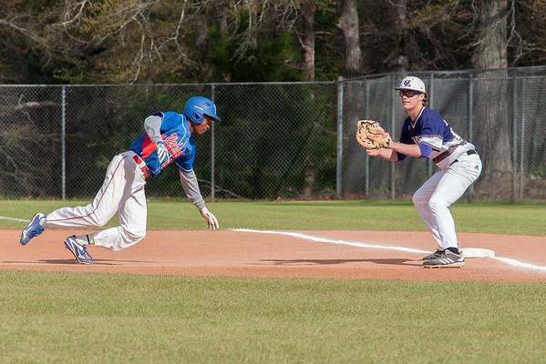 3 21 19 UL JV Baseball vs Veterans a 839