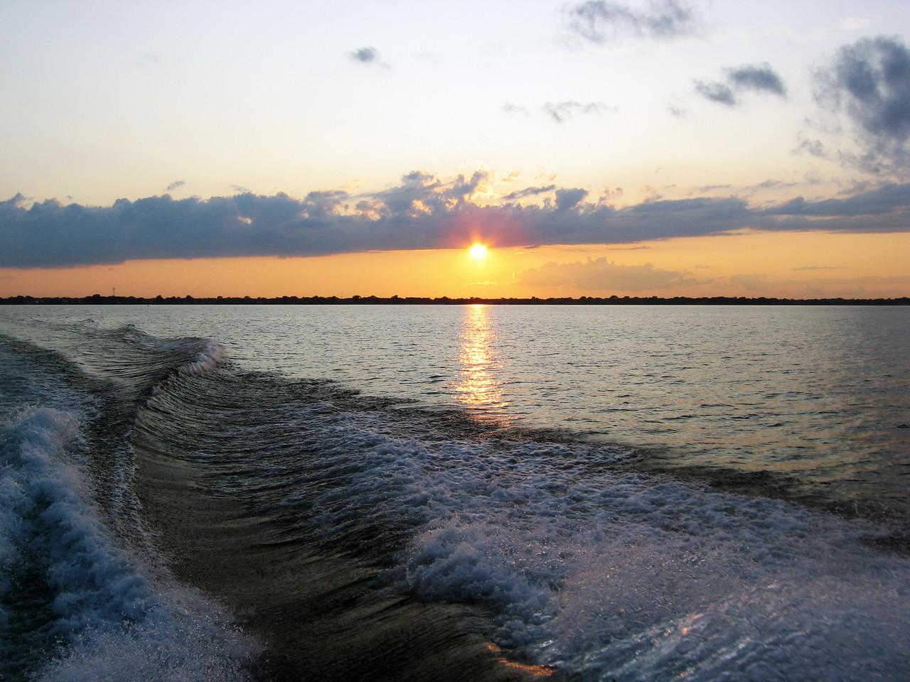 Lake St. Clair Sunset