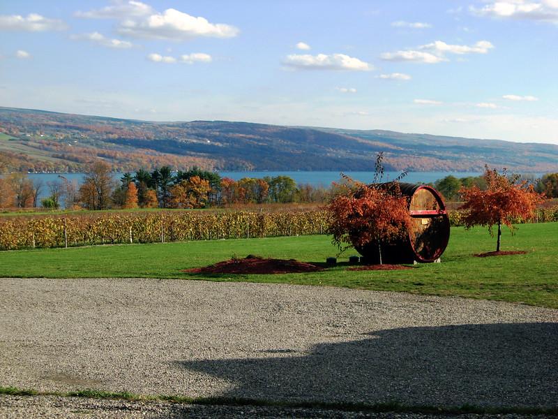Winery in Fall