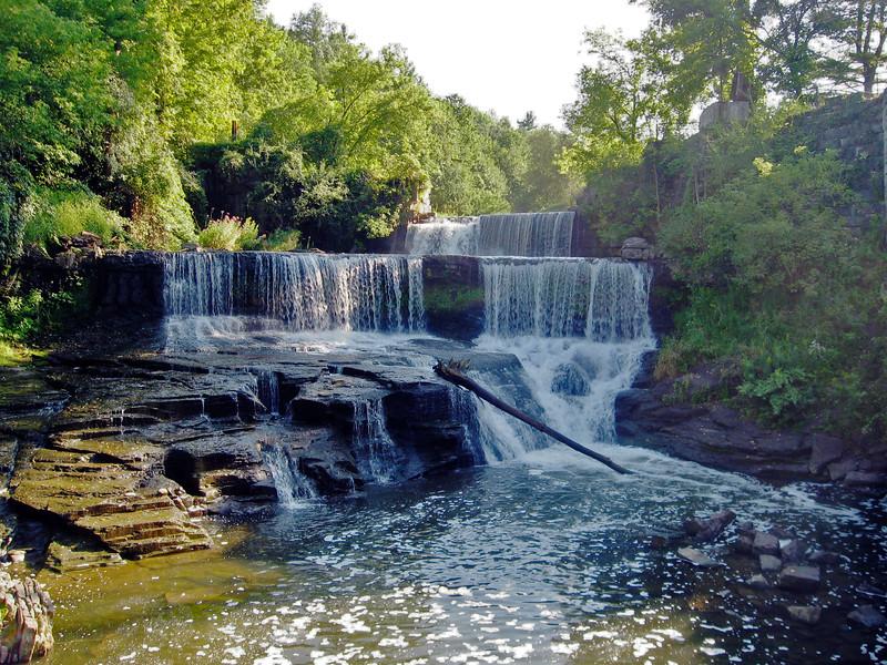 Keuka Outlet Waterfall