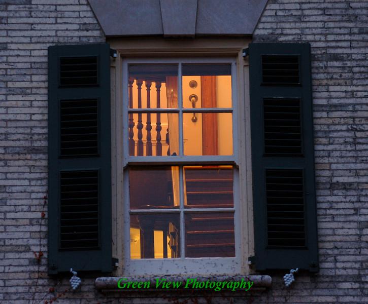 A Peek in Geoge's Window
