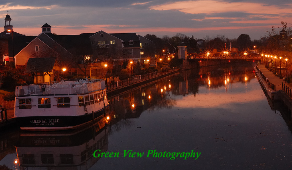When the Sun Goes Down in Fairport