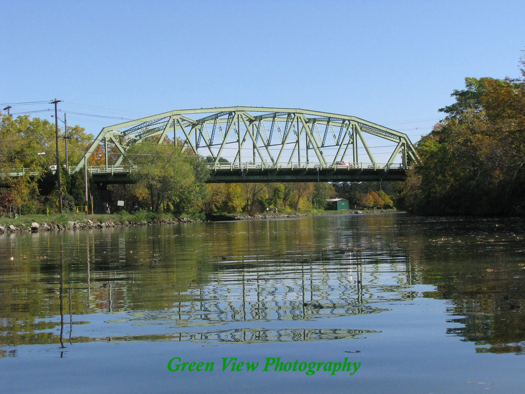 Canal View of Pittsford Bridge