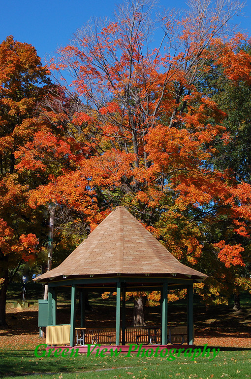 Autumn Gazebo - Maplewood Park