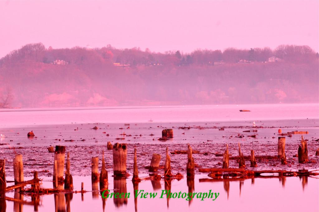 Sunrise on Irondequoit Bay