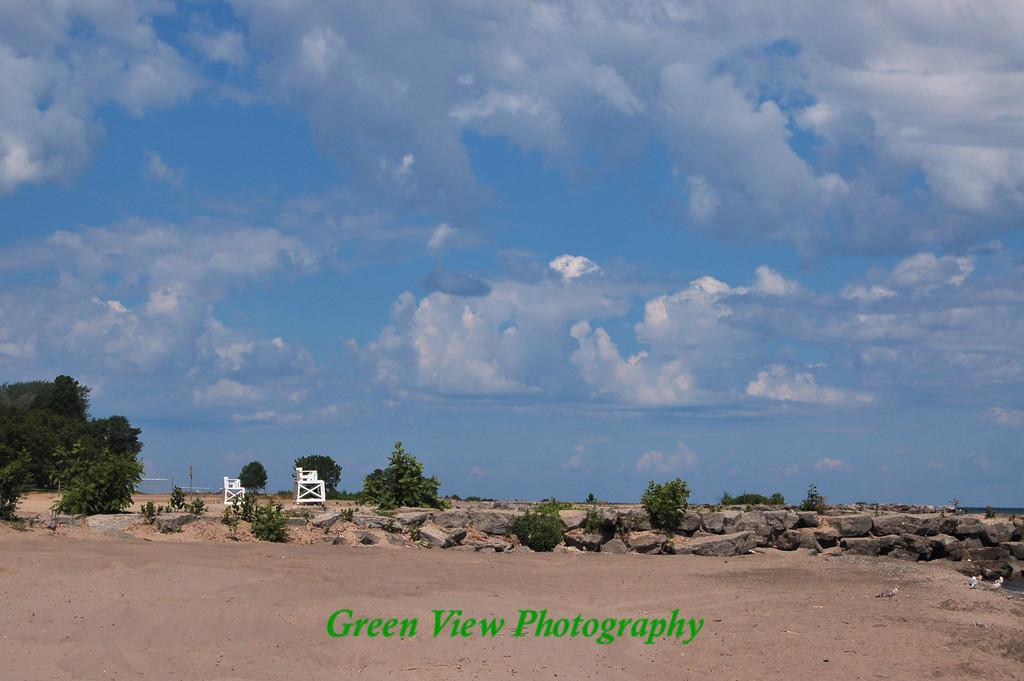 Summer Beach at Hamlin State Park