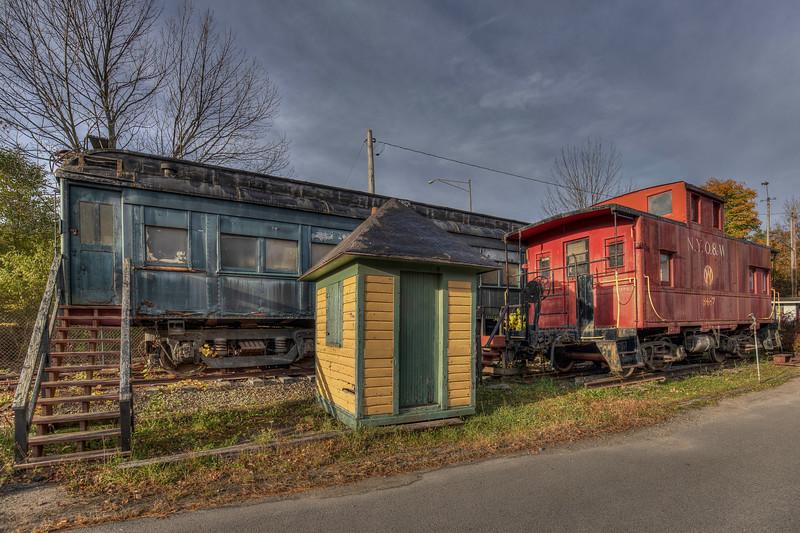 Sunset, Roscoe O And W Train Museum, Roscoe New York