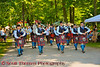 Caledonian Pipe Band at the Cortland Celtic Festival at the Dwyer Memorial Park in Little York, New York.