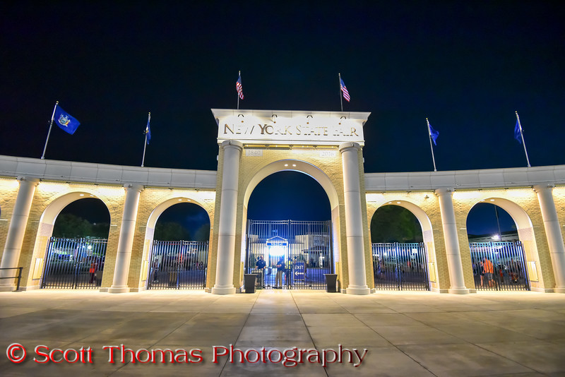 The new Main Gate at the New York State Fair near Syracuse, New York on Saturday, August 27, 2016.