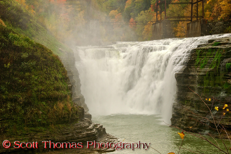 Upper Falls in Letchworth State Park.