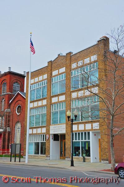 Women's Rights National Historical Park Visitor Center in Seneca Falls, New York.