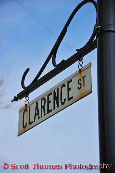 """One of the many references to the movie, """"It's a Wonderful Life, in the village of Seneca Falls, New York.  Clarence was the name of the angel in the movie."""
