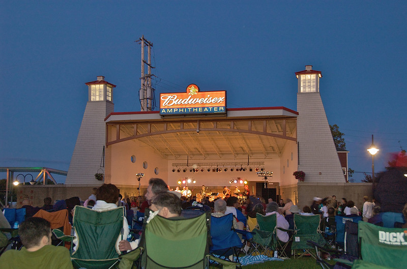 Paper Mill Island 4th of July Concert in Baldwinsville, New York.