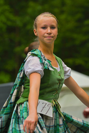 Dancer in the Highland Dance Competiton at the CNY Scottish Games at Long Branch Park in Liverpool, New York, on Saturday, August 14, 2010.  [For Non-Commercial Editorial Use Only]