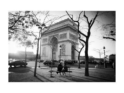 Paris, Un Jour de Décembre 2019