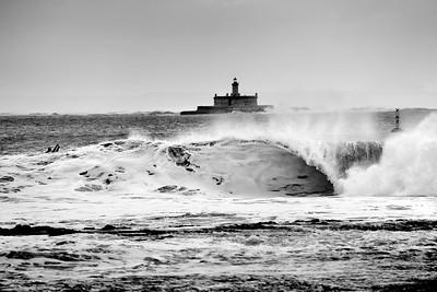 Lighthouse & Wave Boy
