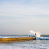 Surfer and Pier
