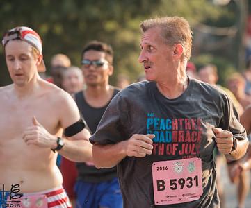 Distracted runner
