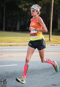 Elite female runner