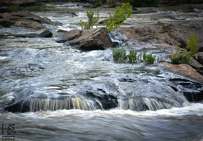 06-28-14 With my new tripod I was able to get some flow in the rapids.