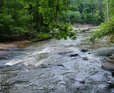 06-28-14 A downstream view of the Sweetwater Creek rapids.