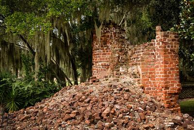Ruins at plantation