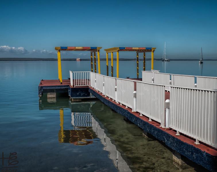 Boatdock at a Cienfuegos hotel