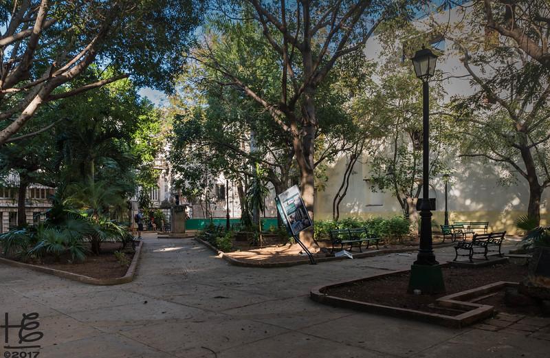 Old Havana park