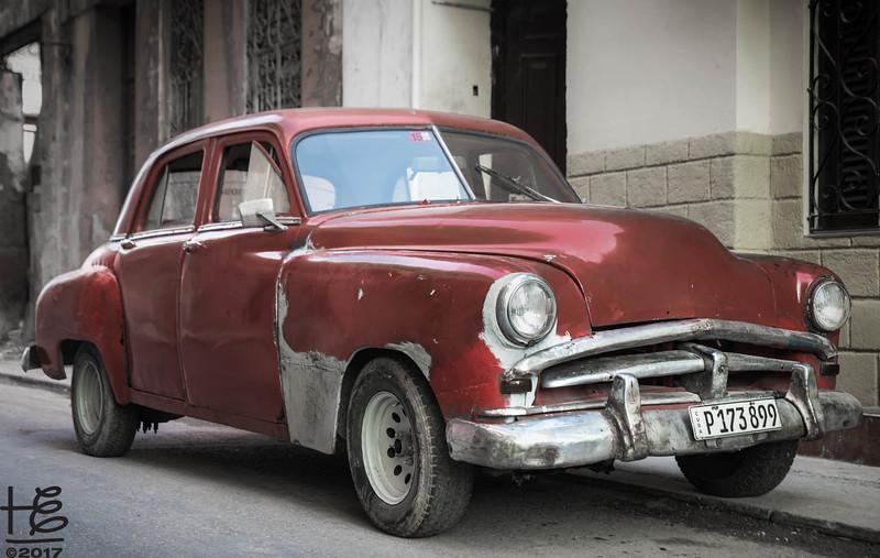 Old Cuban car