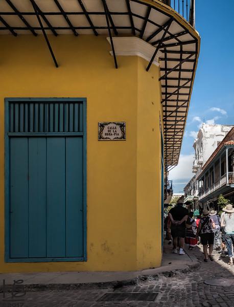 Typical Old Havana corner - tourist zone