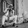 Havana street performer