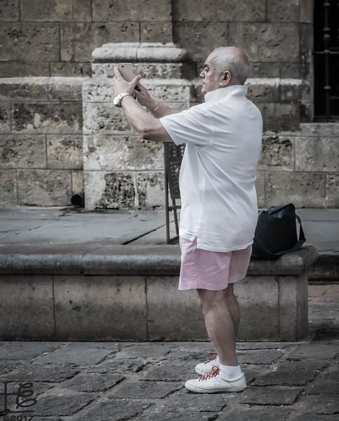Tourist in Old Havana