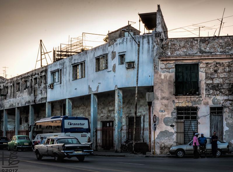 Industrial street scene