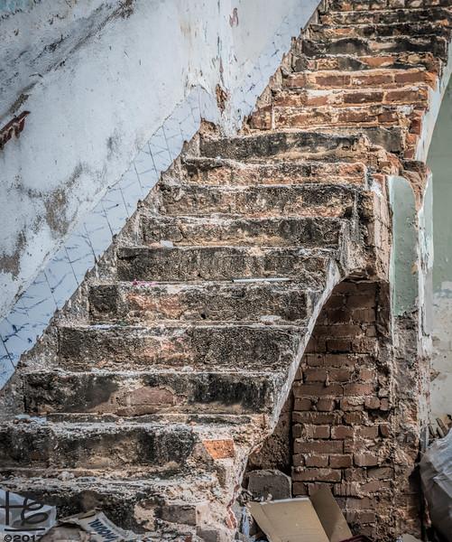 Stair ruins