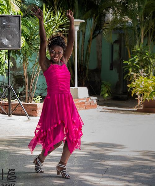 Dancer at African Cultural Center