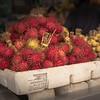Rambutan at market