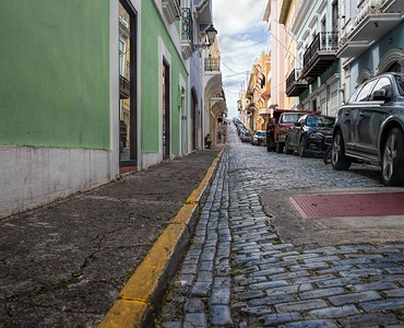 Typical Old San Juan street