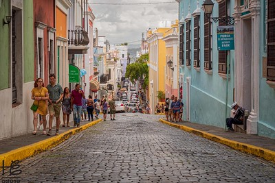 Old San Juan tourist area