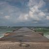 Rough Gulf surf