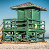 Siesta Beach lifeguard station