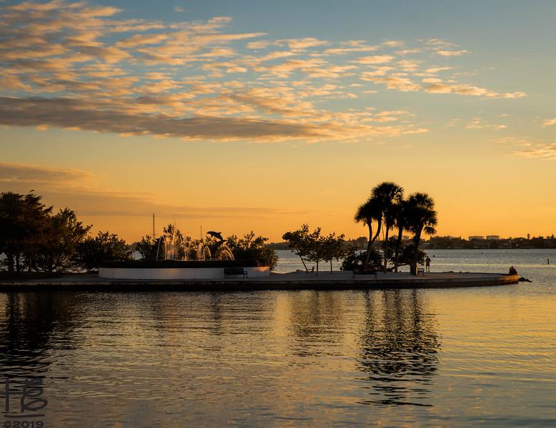 Sarasota Bay sunset