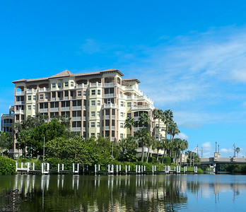 Condos on water