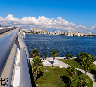 SRQ Bridge - top, railing