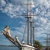Sailboat in Toronto Harbour