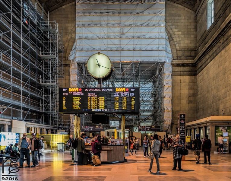 Union Station construction