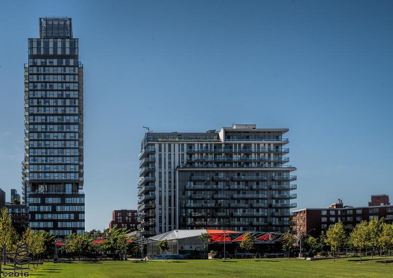Regent Park - residential buildings