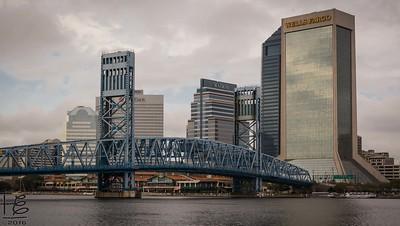 Jacksonville from across the bridge
