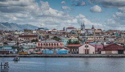 Santiago de Cuba shoreline